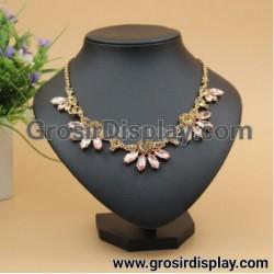 Display Kalung Mini Semi Kulit Pajangan Toko Perhiasan