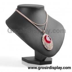 Display Kalung Medium Semi Kulit Pajangan Toko Perhiasan