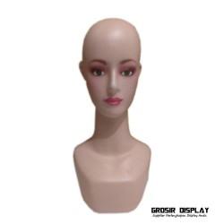 Manekin Kepala Dewasa Patung Pajangan Tempat Display Wig Kerudung