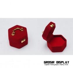 Kotak Display Cincin Bentuk Koper Pajangan Display Seserahan Lamaran Perlengkapan Pernikahan