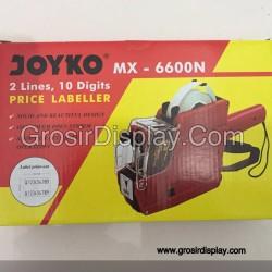 Tembakan Stiker Harga Joyko MX-6600N 2 Line
