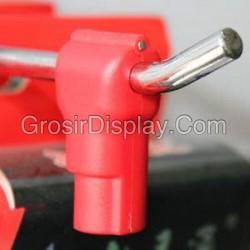 Stop Lock Kunci Gantungan Hook Ram Display Aksesoris Toko