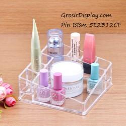 Display Kotak Tempat Kosmetik Aksesoris Perhiasan Lipstik Kutek