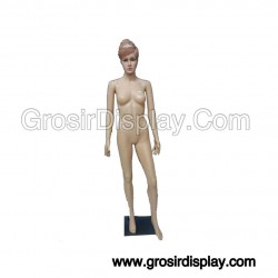 Manekin Full Body Patung Cewe Fiber Pajangan Display Perlengkapan Toko Wanita Butik